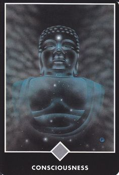 Expand your consciousness till you reach above the clouds of our material world. From Osho Zen Tarot