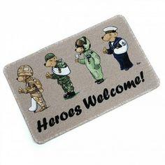 Doormat from Help For Heroes