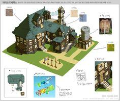 GGSCHOOL, Artist 최영선, Student Portfolio for game, 2D Scene Concept Art, www.ggschool.co.kr
