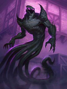 Card Name: Shadow Rager Artist: Jon Neimeister
