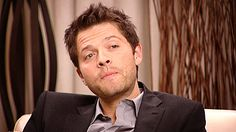 EVERYONE needs this gif of Misha sassily doing the Jensen tongue thing