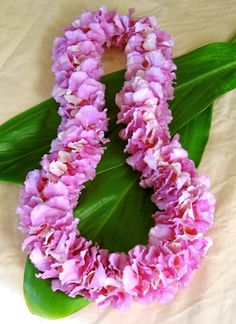 Hawaiian lei -- First time no traditional lei greeting. Second time it was a must and we loved it. They were so perfumy and lasted for days. Hawaii Flowers, Tropical Flowers, Colorful Flowers, Beautiful Flowers, Tropical Art, Hula, Hawaiian Theme, Hawaiian Leis, Orchid Lei