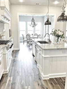 50 stylish gray and white kitchen ideas (36)