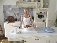 Kuchyni proslavila Dita Pecháčková, když v ní vařila ve svém kulinářském pořadu Deník Dity P.