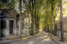 Pere Lachaise Cementary...really neat place to wander through, for a cemetery! Lots of history.