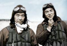 Saburo Sakai and Hiroyoshi Nishizawa in Rabaul island, together they destroyed more than 150 allied planes!!!
