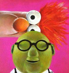 Bunsen+and+Beaker+Print+Muppets+The+Muppet+Show+by+Ckrickett,+$12.00