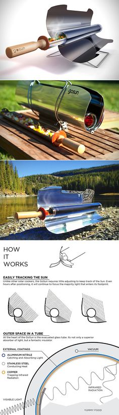 GoSun Sport #Solar Cooker- $279 http://shop.solardirect.com/product_info.php?cPath=175&products_id=2244