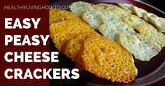 If you are looking for a little crunch, try this easy peasy cheese cracker recipe. You won't be disappointed! Preheat oven to 400 degrees F. Line baking sheet with unbleached parchment paper. Add c. Keto Snacks, Healthy Snacks, Snack Recipes, Cooking Recipes, Eating Healthy, Healthy Eats, Healthy Tomato Soup Recipe, Tomato Soup Recipes, Low Carb Bread