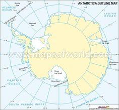Map Of Antarctica Maps Pinterest - What is the latitude and longitude of antarctica