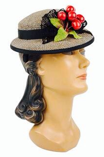 """LETS START WITH HATS!!!  HATS WERE AN ESSENTIAL PIECE OF A WOMAN 'S WARDROBE IN THE 1930's. 1940's. and The 1950'S WHEN MS. CCVO CHANNEL and EDITH HEAD WERE QUEENS OF FASHION!  WHEN ALL THE DESIGNERS OF THE DAY WAS DYING TO  """" FIT"""" THE LEADING LADIES OF HOLLYWOOD! THAT TASK WENT TO THE ONLY DESIGNER WHO WAS PERFECTLY FIT FOR THE JOB,  MS. EDITH HEAD!  Here are some HATS sure to RAZZLE DAZZLE your sense of style!"""
