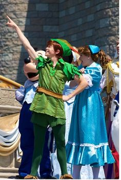 """""""Seize the moments, let your fantasies and dream set sail!!"""" - Peter Pan, Dream Along with Mickey"""