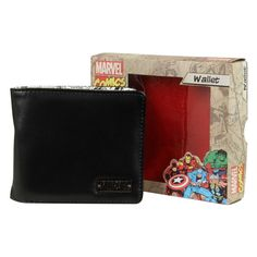 Peněženka Marvel Inside Print Wallet Black/White