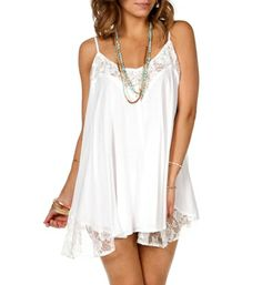 Off White Lace Trapeze Tunic. or this for graduation?