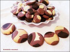 """Biscuiți """"Dalmațieni"""" Cookies, Desserts, Food, Crack Crackers, Tailgate Desserts, Deserts, Biscuits, Essen, Postres"""