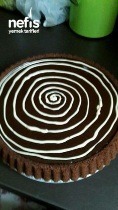 Çikolata Soslu Pamuk Tart Kek - Nefis Yemek Tarifleri Brownie Cookies, Tiramisu, Tart, Gluten, Desserts, Food, Tailgate Desserts, Deserts, Pie