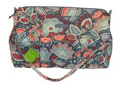 Vera Bradley Small Duffel *** Continue to the product at the image link. (This is an Amazon Affiliate link and I receive a commission for the sales)