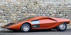 Bertone Lancia Stratos HF 0 concept 1970