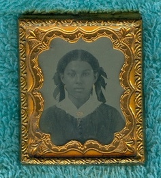 16th Plate Ambrotype of Beautiful Black Sensual African American Young Woman | eBay