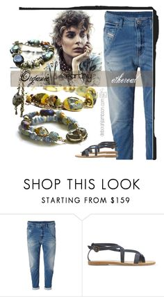 """One of a kInD"" by deborah-lambson ❤ liked on Polyvore featuring Valia Gabriel, jewelry, murano and deborahjlambson"
