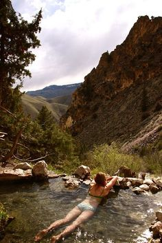 Goldbug Hot Spring, Idaho