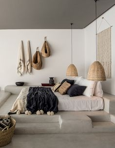 Little Additions - Interior Inspiration by Casa Cook Hotel. Images by Anna Malmburg. Home Bedroom, Master Bedroom, Bedroom Decor, Bedrooms, Modern Bedroom, Nature Bedroom, Bedroom Ideas, Bedroom Rustic, Costal Bedroom