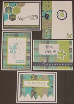 Later Sk8tr cards! #CTMH By Laura Ryan. Love the use of the honeycomb stamp set...