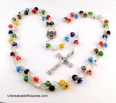 Holy Spirit Rosary Beads  Come visit www.UnbreakableRosaries.com