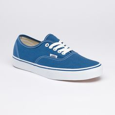 Canvas Authentic - Navy. (Blue Sneakers)