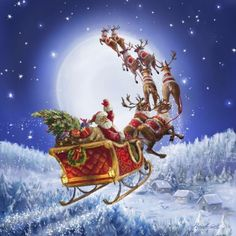 Italian artist Marcello Corti.  Christmas-2.  Discussion on LiveInternet - Russian Service Online Diaries