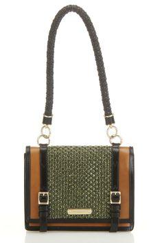 Burberry Christie Handbag In Asparagus