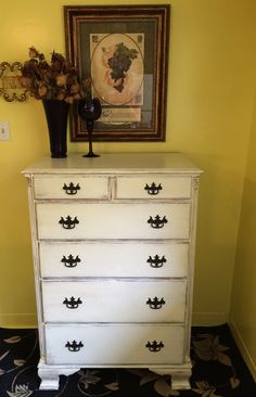Shabby Chic Distressed Antique Dresser. To See My Furniture 4 Sale Or If  You Would
