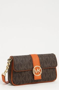 fc1df89e4 MICHAEL Michael Kors 'Fulton Signature - Small' Shoulder Bag | Nordstrom