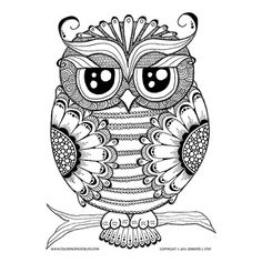 One of my most popular drawings, this owl is both wise and beautiful! With intricate details, both floral and geometric, she can't wait for you to download, print and color her! This coloring page is best suited for the adults and teens skill level. Be sure to share with me your finished art–I'd love to…