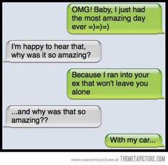 Lol cute texts, hilarious texts, funny ex memes, flirting memes, funny mems Funny Ex Memes, Funny Text Fails, Flirting Memes, Hilarious Texts, Funny Mems, Funny Drunk, Epic Texts, Drunk Texts, Funny Text Messages
