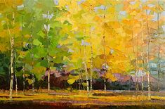 "SEPTEMBER MELODY by Patricia Clayton Oil ~ 20"" x 30"""