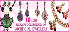 We bring to you the most exclusive and fashionable artificial jewellery which you would love to wear with your casuals and formals too. So, ladies dazzle with our high fashion Zovon Jewellery and set the party on fire!!!!  Visit for buy:- http://khoobsurati.com/jewellery