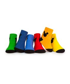 {Essential Mickey Socks Set by Trumpette} *Too cute.