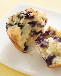 Muffin ai mirtilli, per chi ama la tradizione!