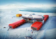 Hugh Broughton Architects: Jang Bogo Korean Antartic Research Station