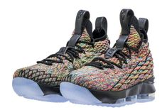 0466c17610f The Nike LeBron 15 Fruity Pebbles Black Will Also Release In GS Sizes  Expected to release