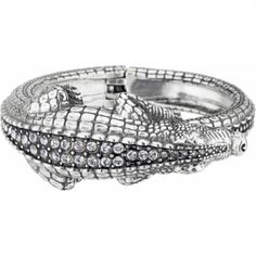 Later Gator Hinged Bangle  available at #Brighton Would be awesome for my little Ally-gator!
