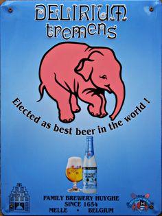 Bière belge Delirium Tremens