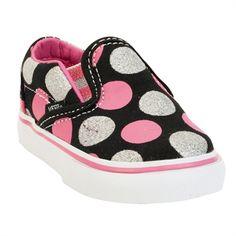 Cami: Vans Girls Toddler Big Dots Classic Slip-On Shoe Cute Baby Shoes, Baby Girl Shoes, Boys Shoes, Toddler Shoes, Toddler Girl, Baby Kids, Baby Girl Fashion, Kids Fashion, Nail Fashion