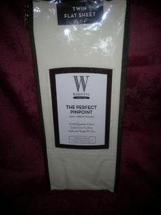 wamsutta twin flat sheet 360 thread ct 100 egyptian cotton dresden blue - Wamsutta Sheets