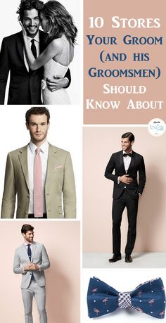 Groom Style: 10 Stores Your Groom Should Know - KnotsVilla