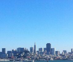 San Francisco, CA.  View from Alcatraz Prison.