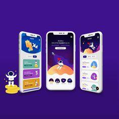 신한은행 어린이 금융 앱 리디자인입니다. Mobile App Ui, Mobile App Design, Pony App, Alarm App, Mobile Ui Patterns, Card Ui, Game Ui Design, Ux Design, Game Interface