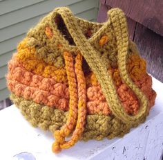Nubby Crochet Bag