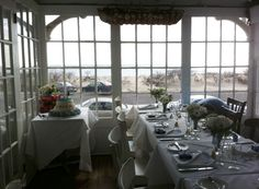 New Jersey Wedding Officiant Andrea Purtell. The Black Trumpet Restaurant in Spring Lake NJ, with views of the beach Is the perfect location for a small intimate ceremony and/or celebration meal afterwards